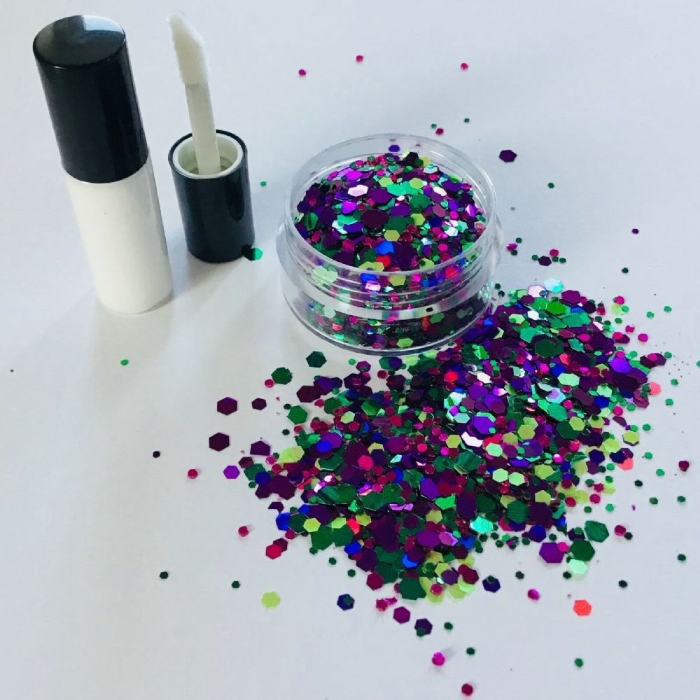 FESTIVAL GLITTER KIT -  MERMAID JEWEL